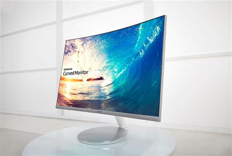 samsung curved monitor samsung cf591 curved 27 quot led gaming monitor review