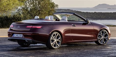 mercedes e class coupe convertible 2017 mercedes e class cabriolet revealed photos 1