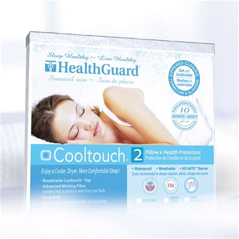 Lowes Touch L by Healthguard Hgctpp01s Pair Cooltouch Pillow Cover Lowe S