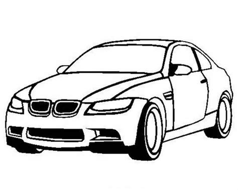 easy coloring pages of cars bmw m3 coloring pages easy free online cars coloring