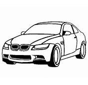 BMW M3 Coloring Pages Easy  Free Online Cars