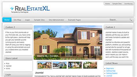 real estate joomla template free 15 free joomla real estate templates demplates