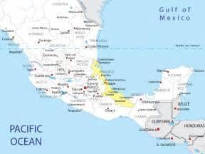 Veracruz Mexico Map by Veracruz Mexico Map