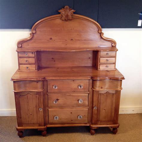 Chiffonier Dresser by Serpentine Pine Chiffonier Dresser In Original
