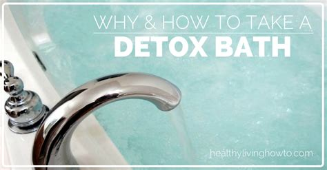 Can You Take A Detox Bath Everyday by Detox Bath