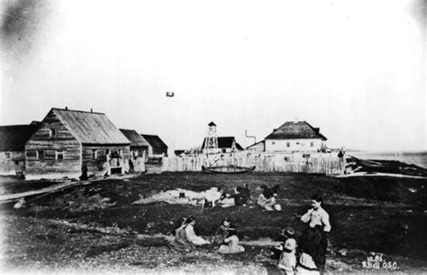 Picture Post Nation 4 by File Fort Albany Ontario 1886 Jpg