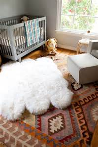 Boys Nursery Rug by Gray Boys Nursery With Layered Rugs