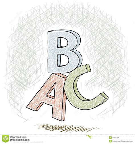 hand drawn lettering tutorial illustrator letters abc royalty free stock photos image 30002758