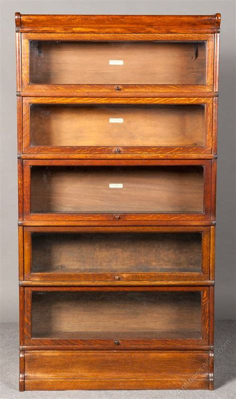 antique barrister bookcase woodworking projects plans