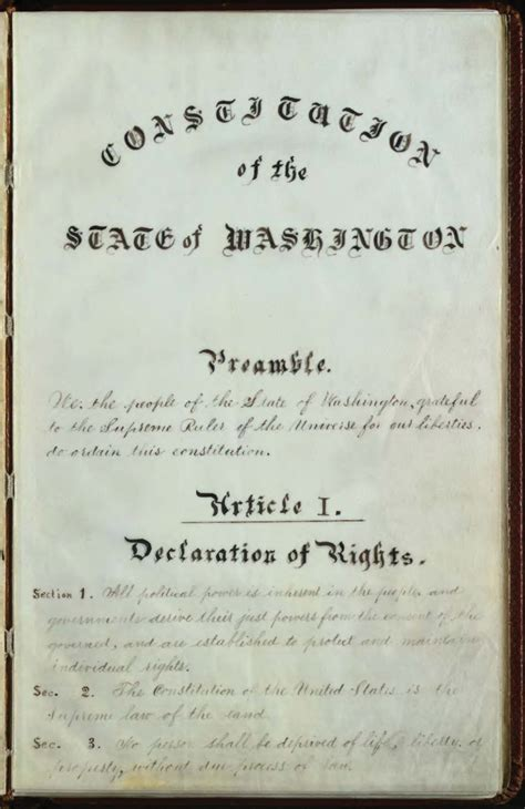 H M Background Check Til In Our Washington State Constitution Quot God Quot Is Omitted From The Preamble Seattlewa