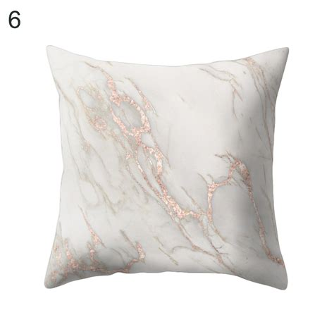 sofa pillow cover geometric marble texture throw pillow case cushion cover