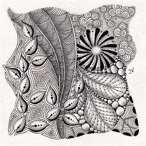 doodle pattern tiles 1849 best zentangle tiles images on pinterest zentangle