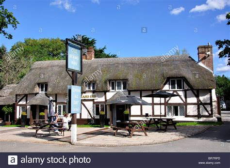 buy house ringwood old beams inn sailsbury road ibsley ringwood hshire england stock photo