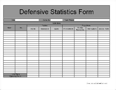 soccer stat sheet template football stat sheet template 28 images football score
