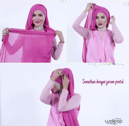 tutorial hijab pasmina lebaran 2015 tutorial hijab unik untuk til beda saat lebaran