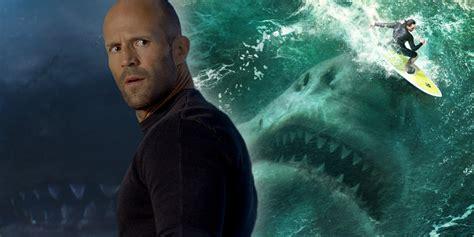 film horror jason statham the meg jason statham went diving with real sharks