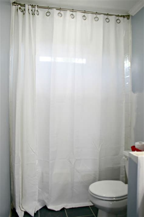 hanging shower curtain veronica hughes how to hang double shower curtains for