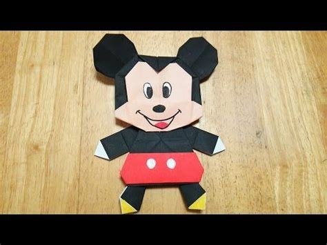 Origami Mickey Mouse - 655 best origami and paper craft images on