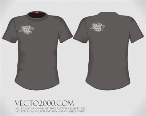 shirt design editor free download vector illustration t shirt design template for men