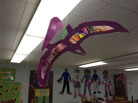 dinosaur craft projects pterodactyl crafts for preschool