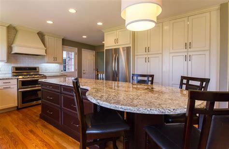 kitchen island length henry full length kitchen cabinets st louis design
