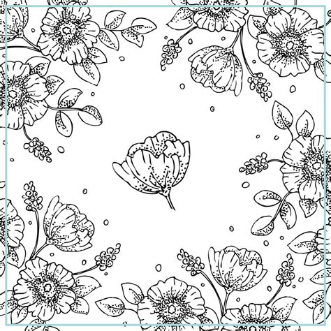vintage patterns coloring pages free printable vintage floral coloring pages to print also
