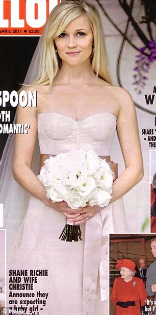 Reese Witherspoon Wedding Dress by Biel Wedding Is Just The In A String