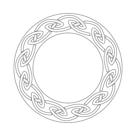 celtic circle tattoo designs celtic circle knots circle stencil for tattooists