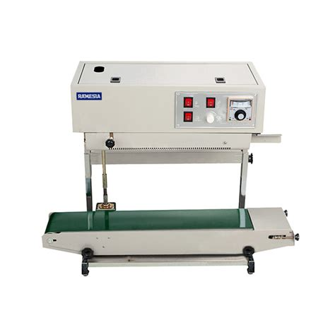 Fr 900f Floor Type Continuous Band Sealer Machine continuous sealer mesin band sealer ramesia mesin
