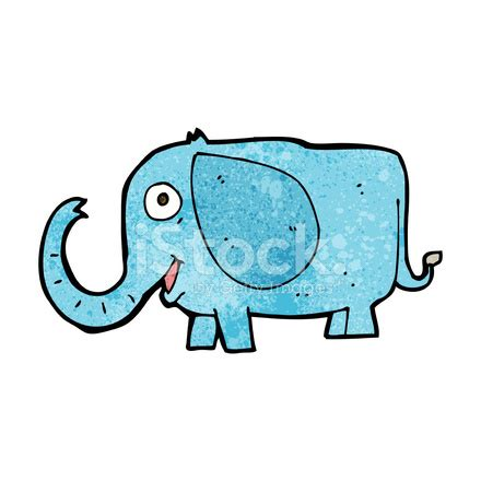 cartoon baby elephant stock vector freeimages.com