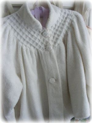 chenille bed jacket lori lynn s cottage