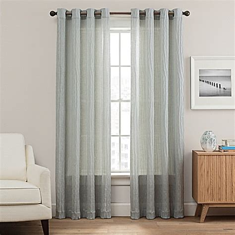 108 inch grommet curtains buy weston 108 inch grommet top window curtain panel in