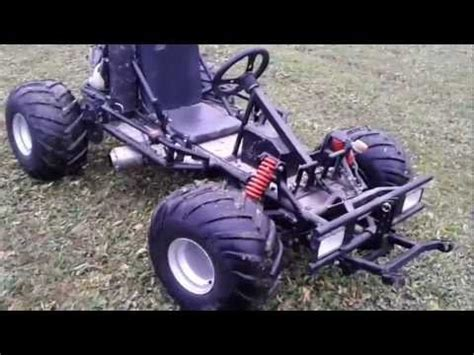 Gebrauchte Motor Go Karts by Motor Go Kart Mit Honda Cbr 600f Motor Youtube