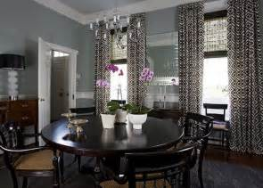 Gray Blue Curtains Designs Dr Blue Gray Walls Curtains Decorating Dining Rooms David Hicks And Blue