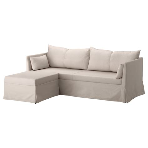 corner couch covers sandbacken cover for corner sofa ransta natural ikea