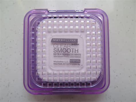 Bedak Maybelline Clear Smooth Bb Silk Poreless White the blackmentos box review maybelline clear smooth bb silk poreless white cake powder