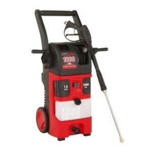 clean force 1.5 gpm electric heavy duty pressure washer