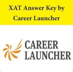 xat exam pattern career launcher xat answer key 2017 by career launcher download here