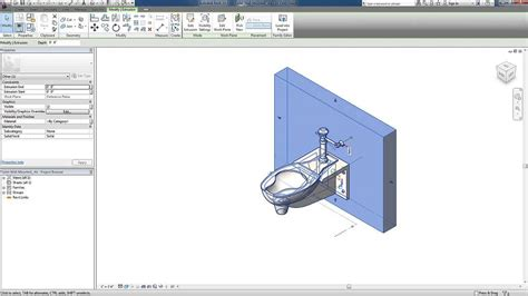 Plumbing In Revit by Revit For Mep Plumbing Systems Fixture Hosting