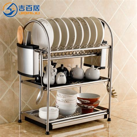 Bowl Rack aliexpress buy diy bowl rack drain rack layer