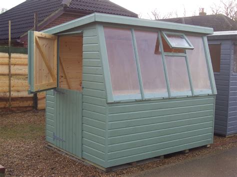 Pent Potting Shed by Iow Garden Shed Centre Hshire Pent Potting Shed Range