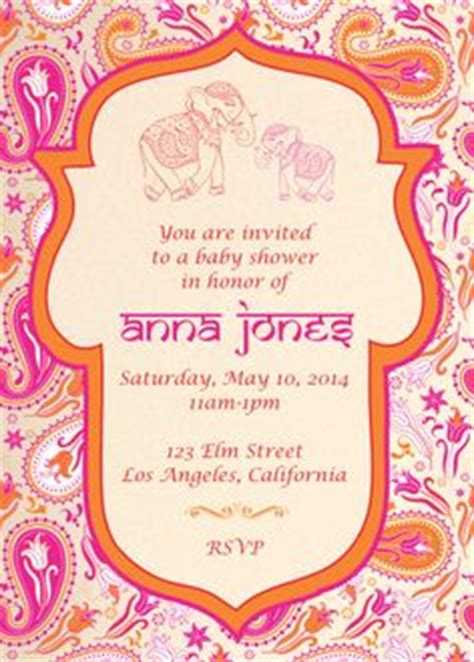 Moroccan Baby Shower Invitations And Signs Printable Uprint Digital Printed 4 Designs By Moroccan Invitations Templates