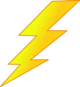 Lightning Bolt In Free Vector Graphic Lightning Bolt Yellow Energy