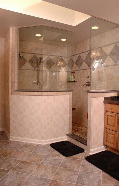 Walk In Shower Wall Options 4 Design Options For Walk In Showers