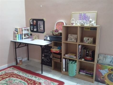 design meja jahit ini blog cikgu fiza dekorasi bilik study
