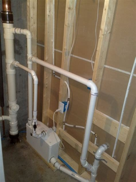 macerator pump for basement bathroom the saniflo macerating pump system