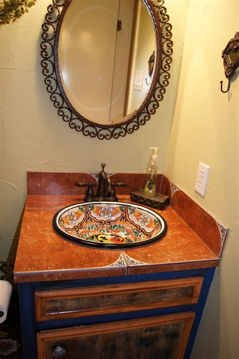 Mexican Bathroom Vanity 1112 Colonial Parkway