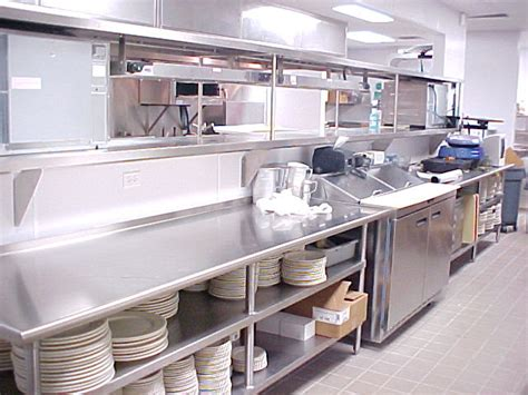Commercial Kitchen Counter by Stainless Steel Industrial Kitchens Afreakatheart