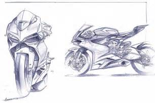Design Sketch For The vault ducati 1199 sketches