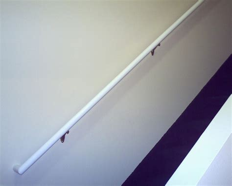 White Stair Handrail White Painted Stair Railings Images